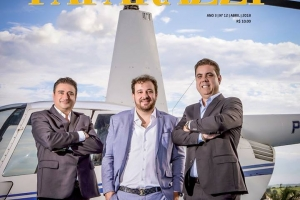Edição Especial BUSINESS traz na capa empresários de sucesso no mundo dos negócios.